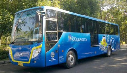 Sarbagita bus as one of the alternatives to Ngurah Rai airport