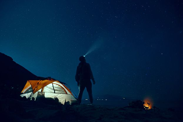 Relieve your stress through camping so you don't consume medicines