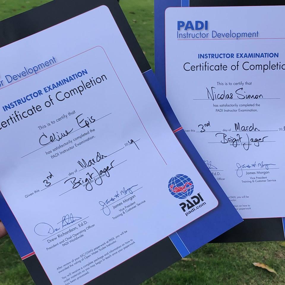 scuba diving certification in bali